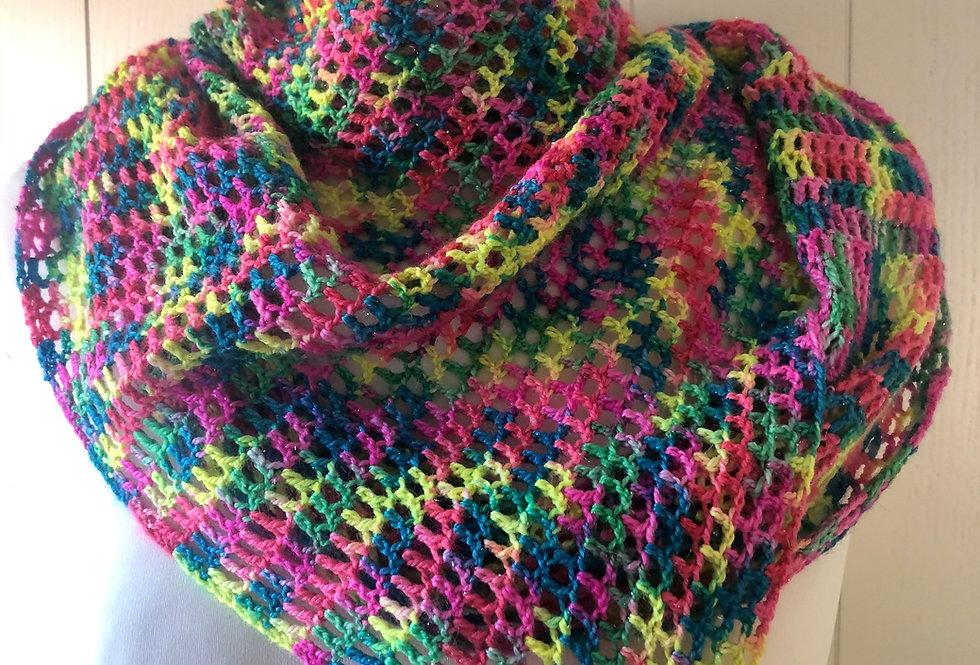Hope Crochet Shawl Set