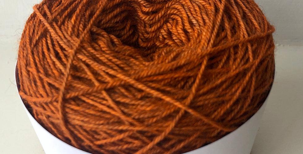 Orange (4 ply SW Merino/ Yak/Nylon)