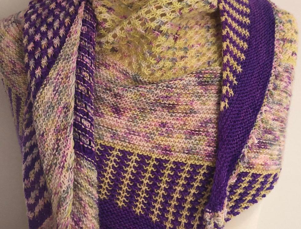 Winteringham Knitted Shawl Set