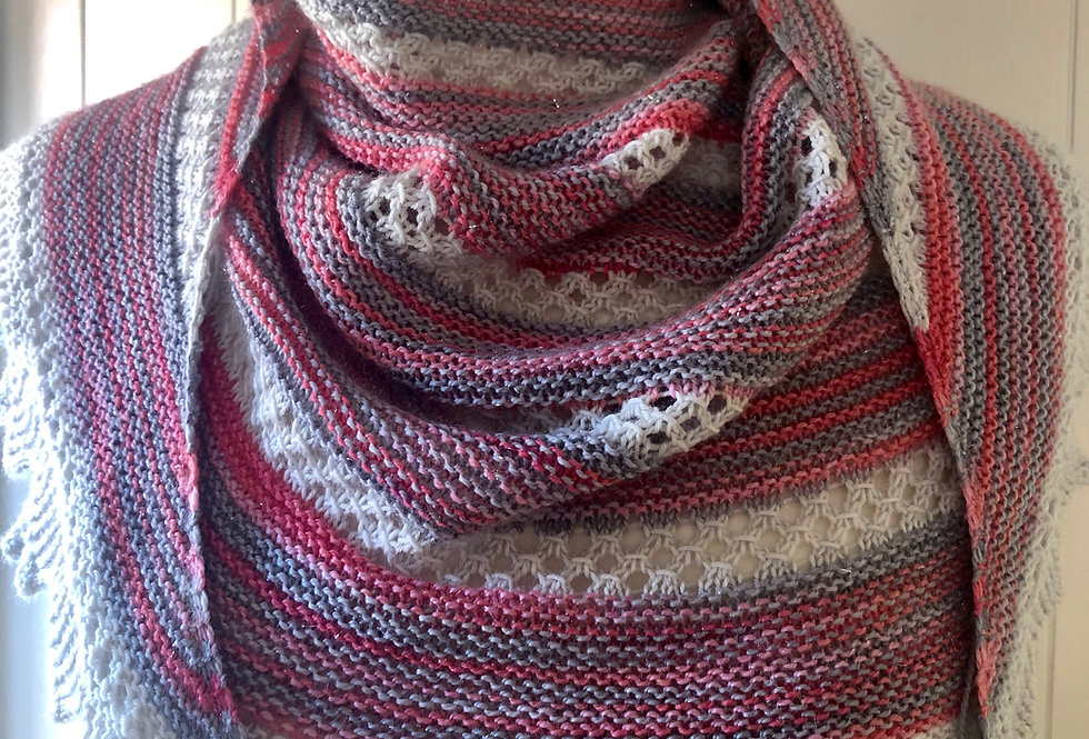 Friesthorpe Five Knitted Shawl Set