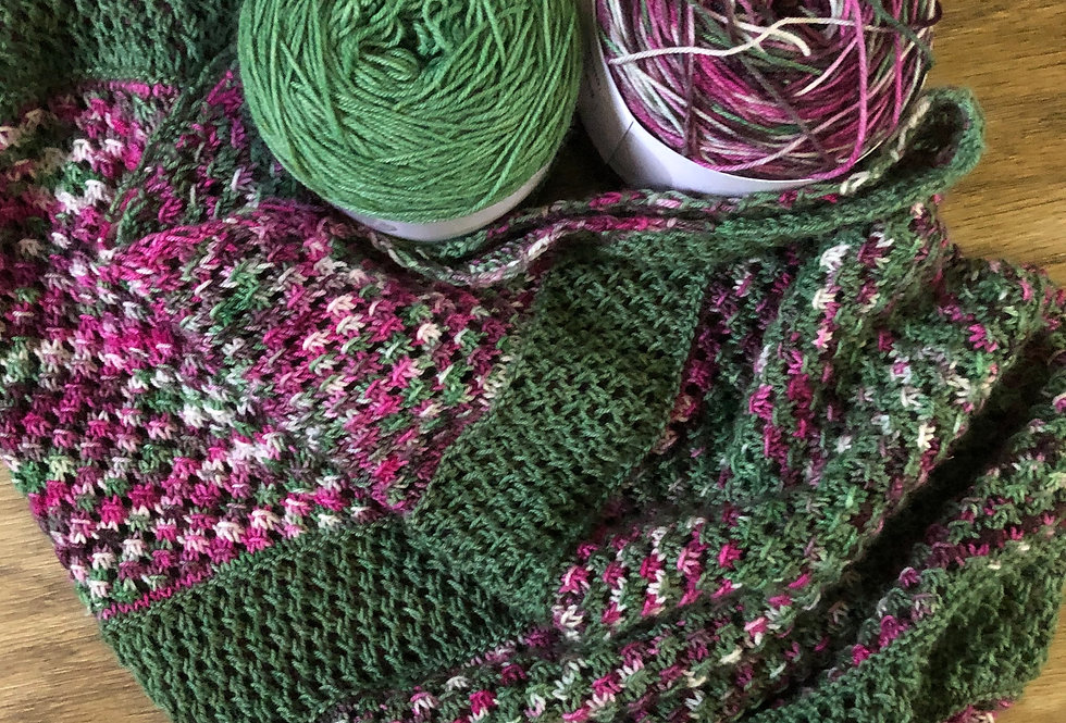 Springthorpe Knitted Shawl Set