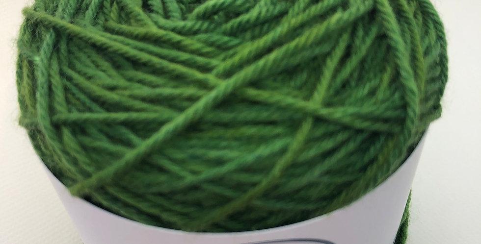 Hand Dyed DK Superwash Merino Lincoln Green