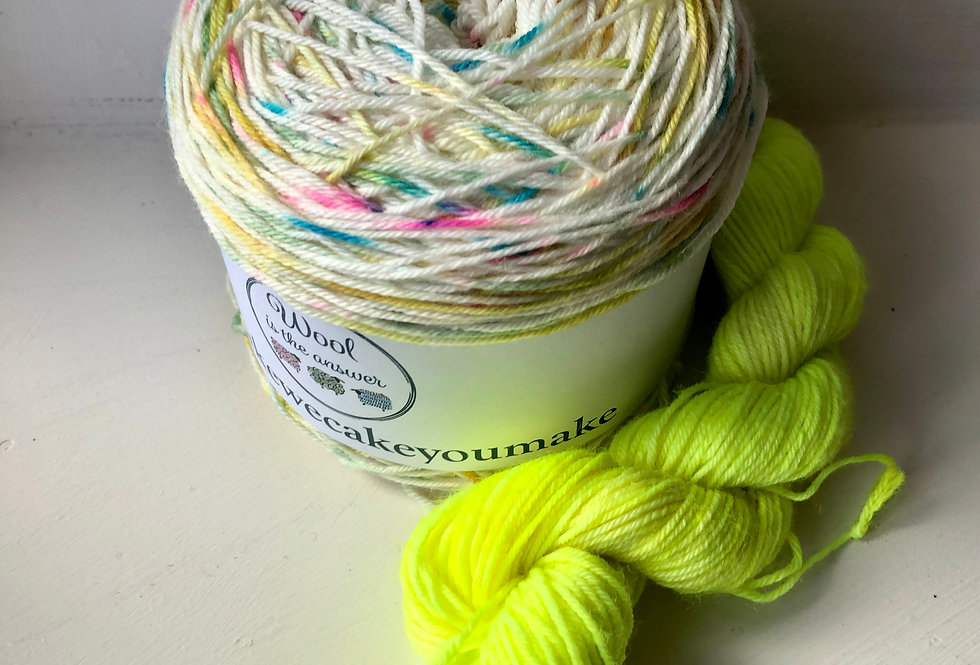 4 ply Bunting Sock Set