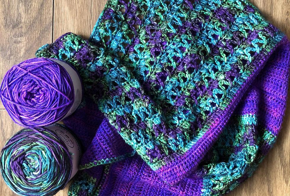 Call me Rosie Crocheted Shawl Set
