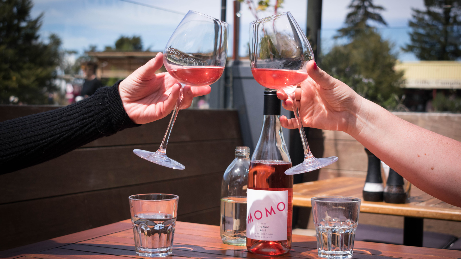 Our Organic MOMO wines