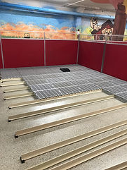 Install of Sure-Step kennel flooring at Commercial Dog Kennel facility