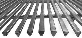 Triangular design and galvanized steel make Tri-Step easy to clean and sanitize