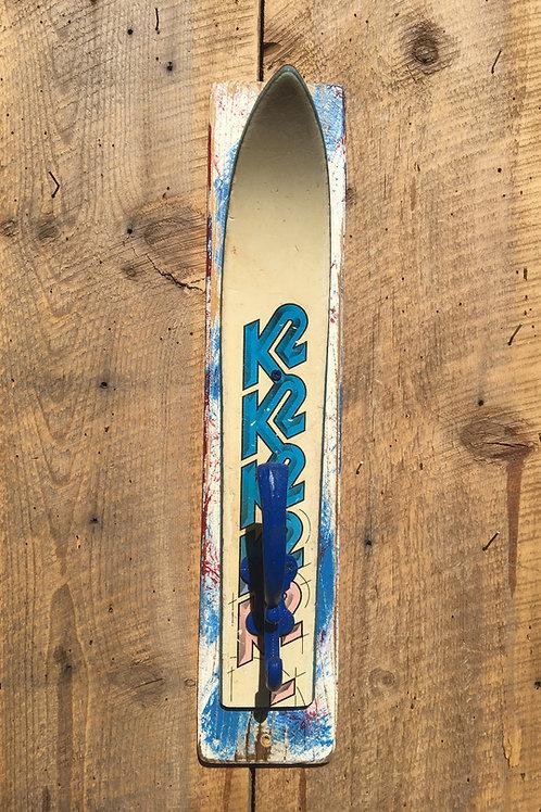 Vintage Ski Coat Rack