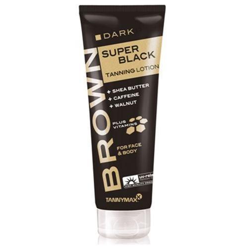 SuperBlack Tanning Lotion mit Walnussextrakt