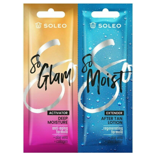 2er-Set: So Glam Tanning Lotion & So Moist After-Sun-Lotion