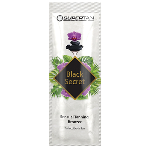 Black Secret Sensual Tanning Bronzer mit Collagen