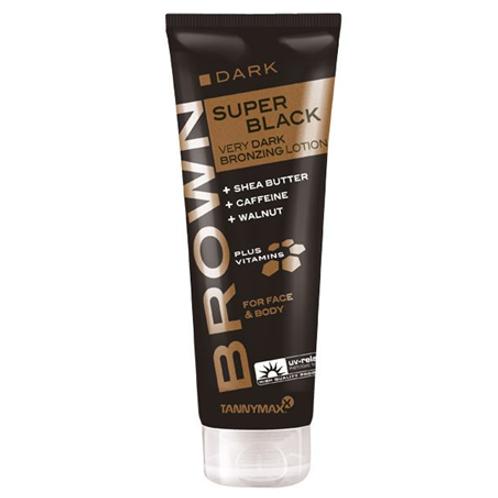 Super Black Bronzing Lotion mit Walnussextrakt