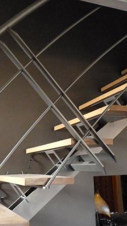 Escalier Gembloux détail