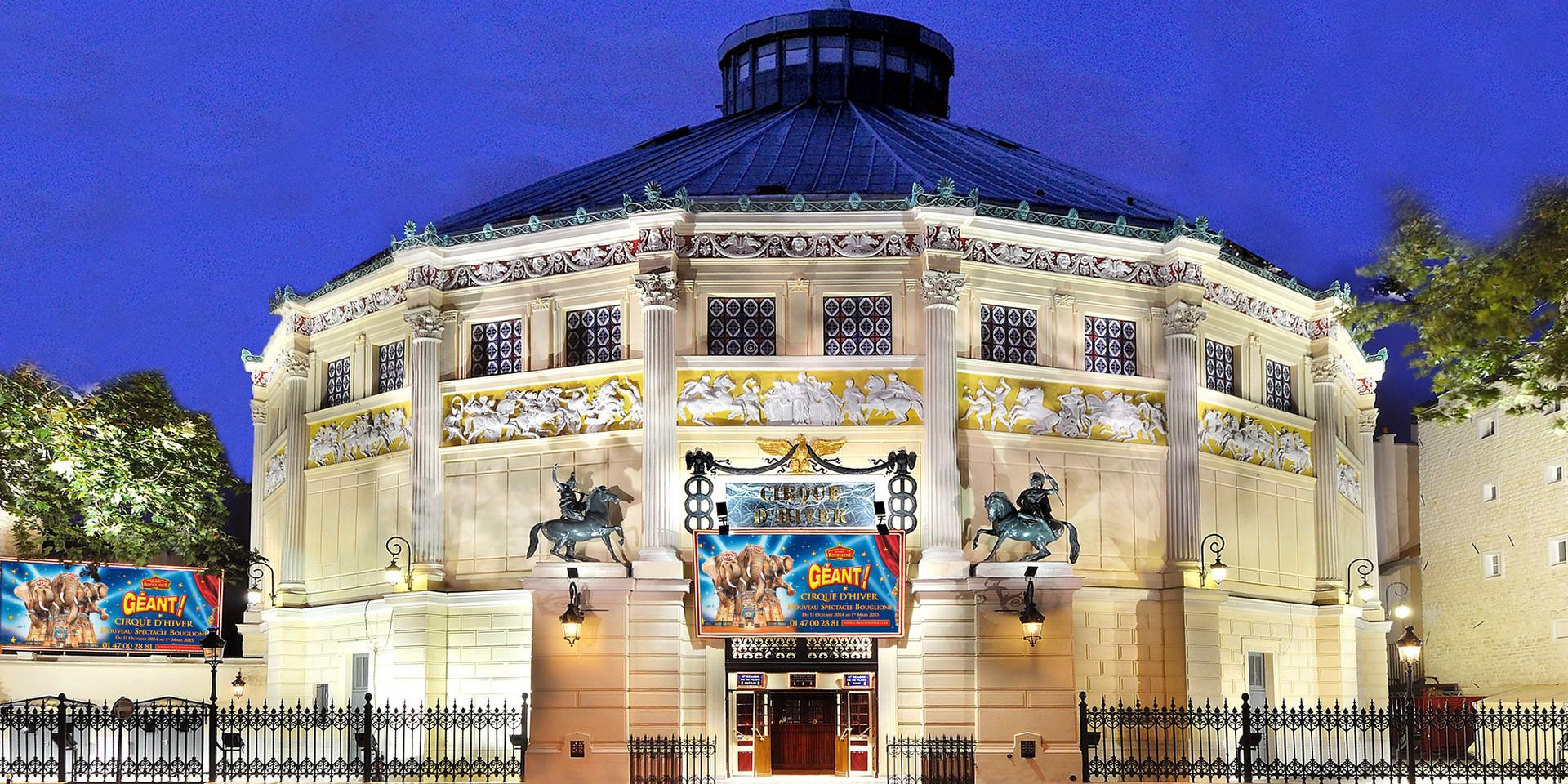 FRANCE - Cirque d'Hiver Bouglione