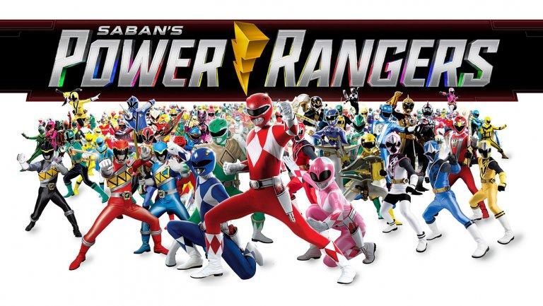 Resultado de imagem para 25 anos da franquia Power Rangers