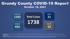 Grundy County COVID-19 Update (10.18.21)