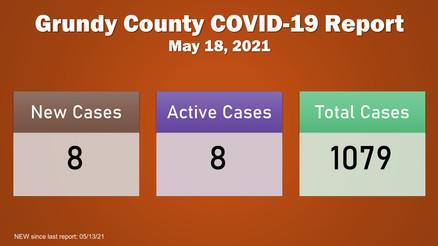 Grundy County COVID-19 Update (05.18.2021)