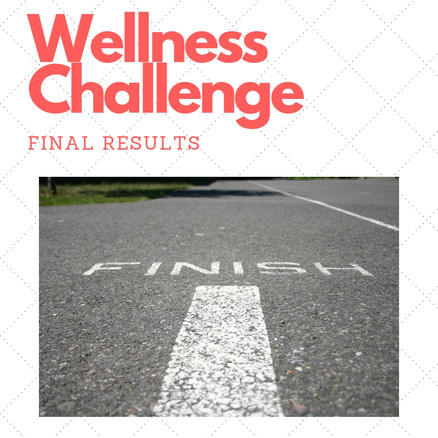 Wellness Challenge Week FINAL Results