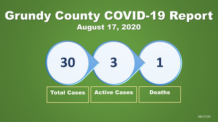 Grundy County COVID-19 Update (Aug. 17)