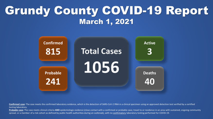 Grundy County COVID-19 Update (03.01.2021)