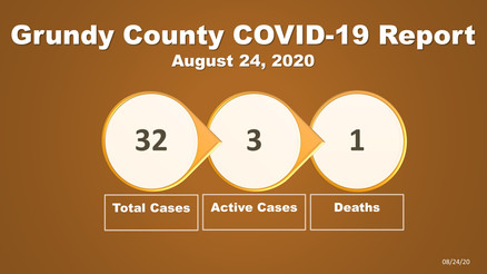 Grundy County COVID-19 Update (Aug. 24)