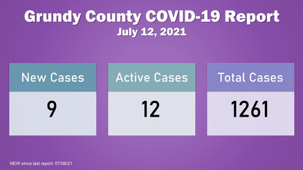 Grundy County COVID-19 Update (07.12.21)