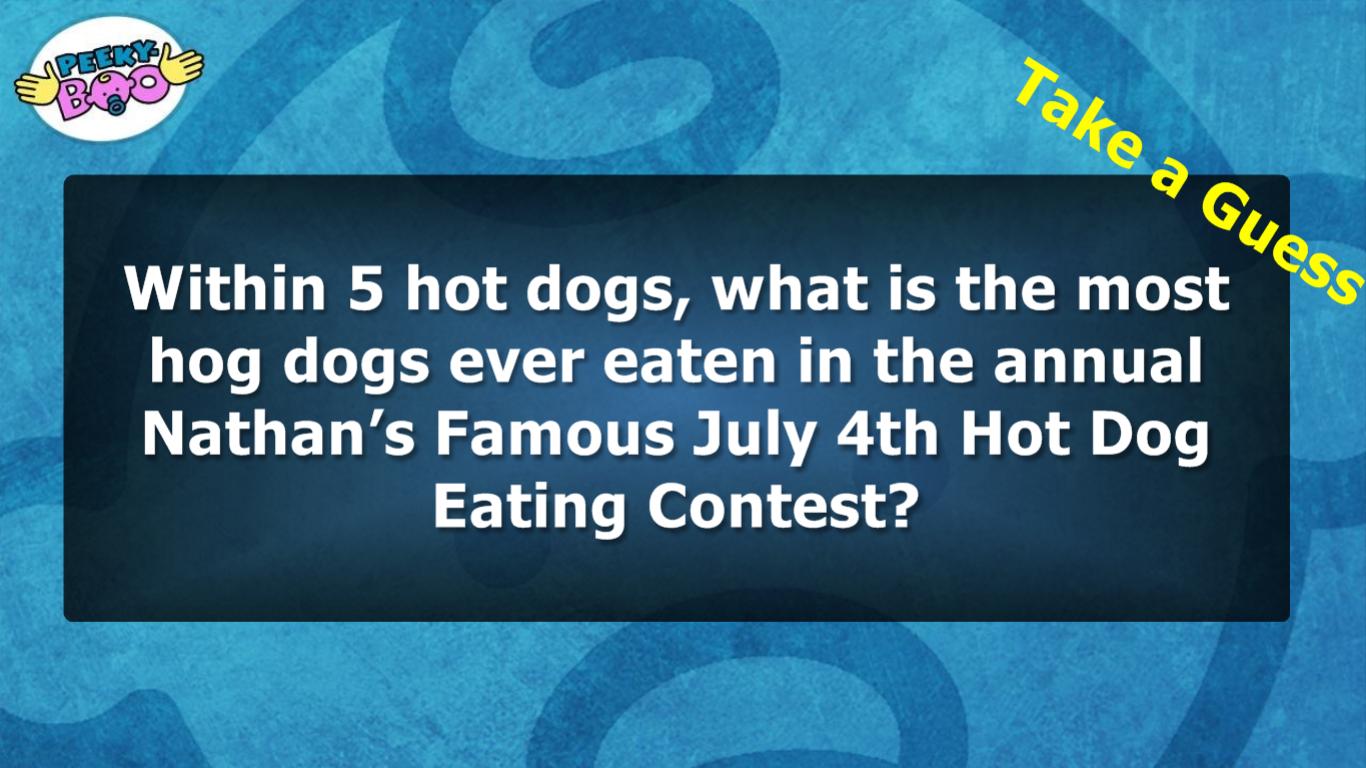 Take a guess!
