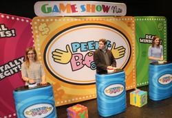 Contestants on Set