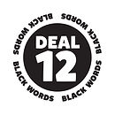 Blank It black word sticker - Deal 12