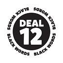 Blank It black word sticker - Deal 12