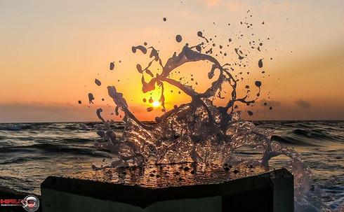 Sunset Hearts