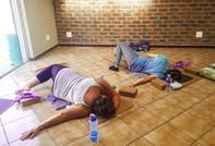 Saturday yoga & chill:)