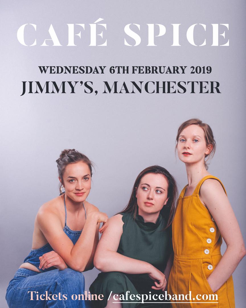 Promo shoot with Café Spice