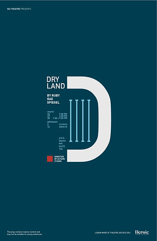 Dry Land Poster by Emma Dau