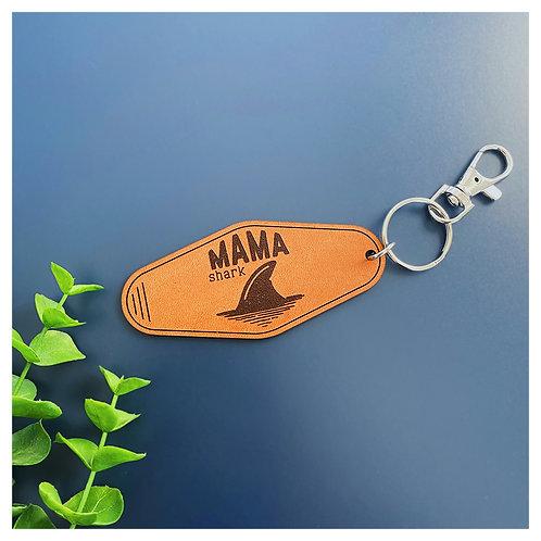 Mama Shark Hotel Keychain