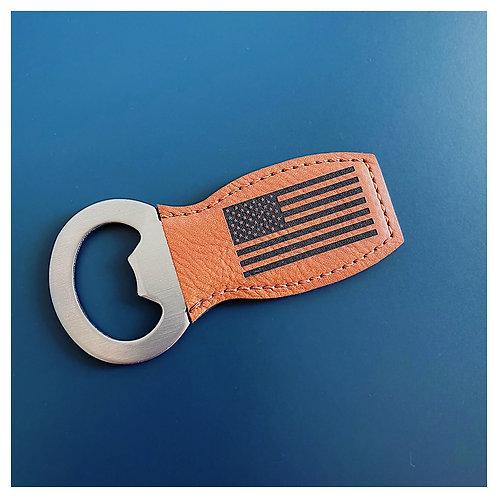 American Flag Engraved Bottle Opener