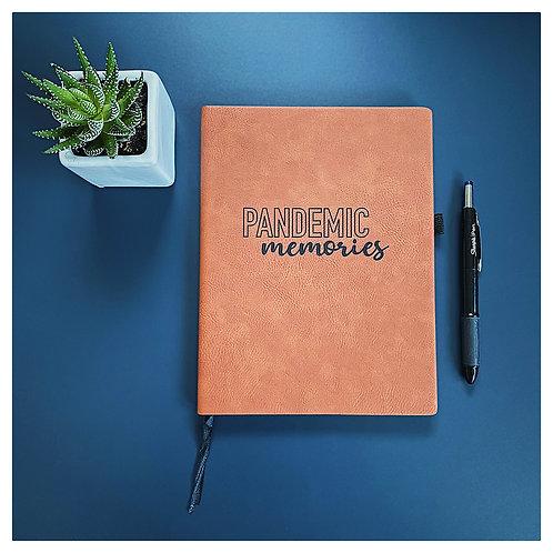 Pandemic Memories Engraved Journal