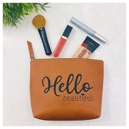 Hello Beautiful Beauty Bag