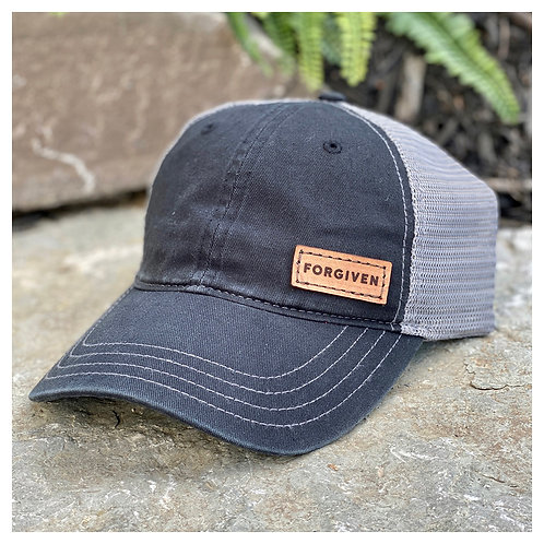 Forgiven Leather Patch Hat