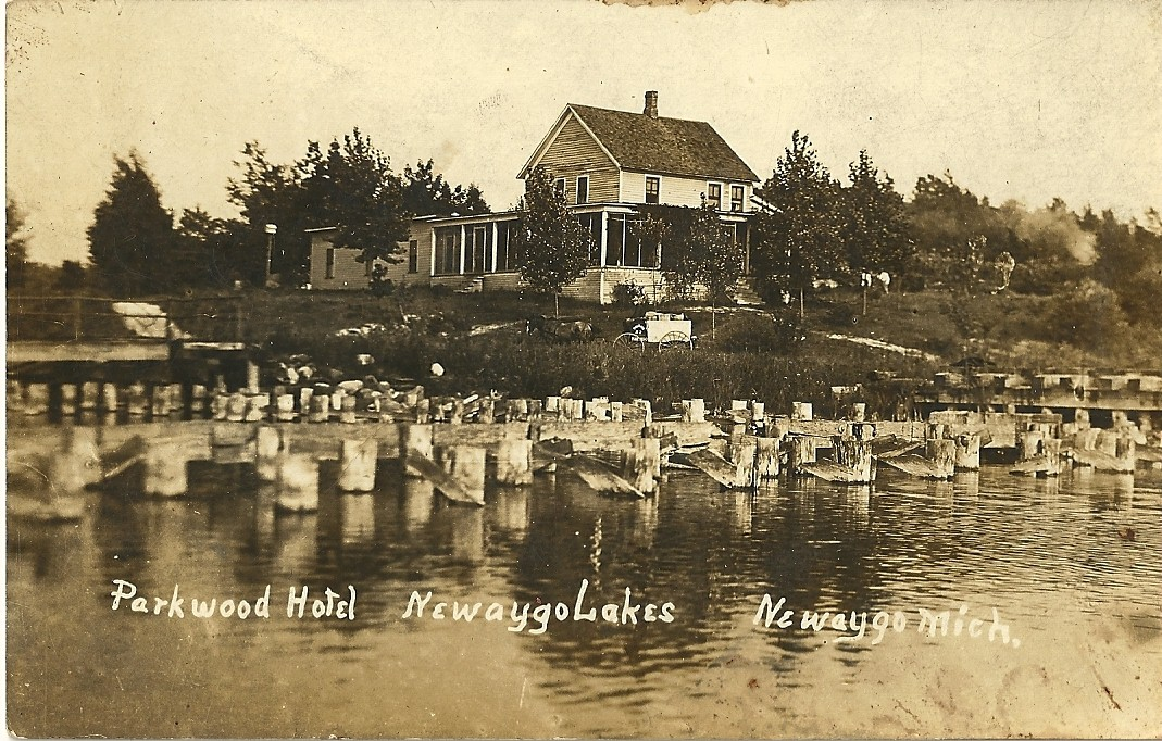 Parkwood Hotel post card 1911