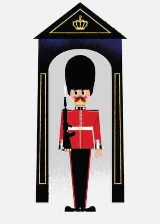 Retro Guardsman