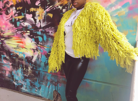 styling neon for the fall + winter