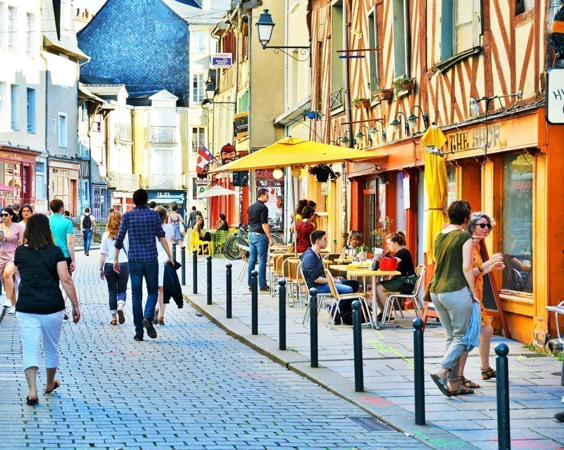 Rennes et ses ruelles