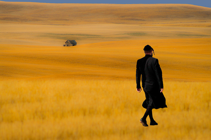 Rabbi in Field