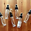 Thumbnail: 3pcs 4 oz. Clear PET Plastic Bottles w/ Spray Mister