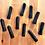 Thumbnail: 10pcs Black Blank Inhalers [w Cotton Wick]