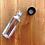 Thumbnail: 10pcs 1 oz. PET Plastic Empty Bottles Black Lids