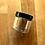 Thumbnail: 6pcs 2 oz. Clear PET Plastic Jars w/ Black Top
