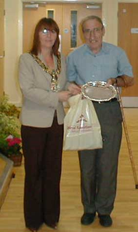 Our first Garden Competition Winner - 2005