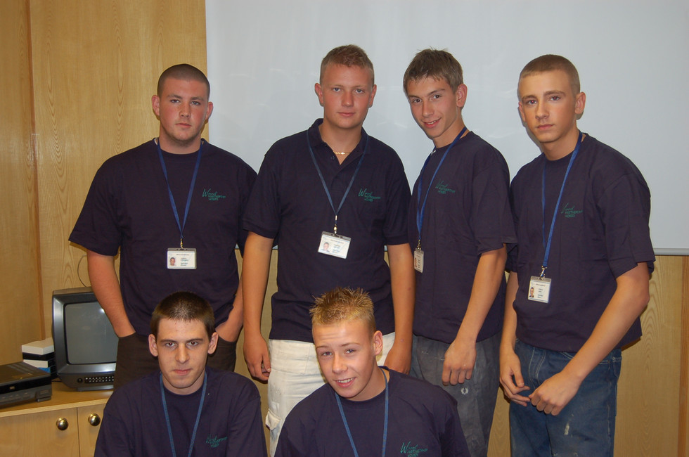 Six apprentices joined us in 2006!